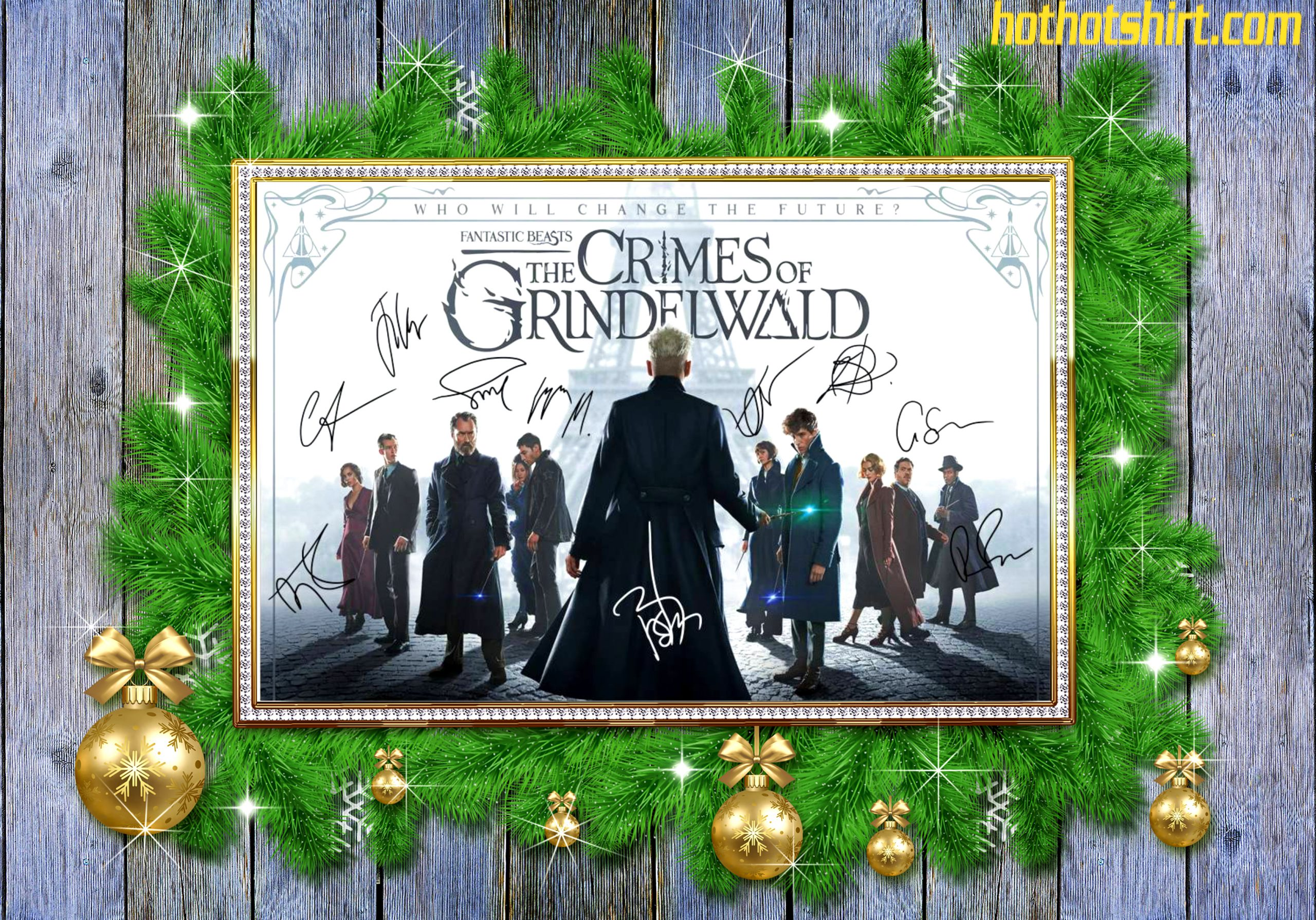 Fantastic beasts the crimes of grindelwald signature poster 2