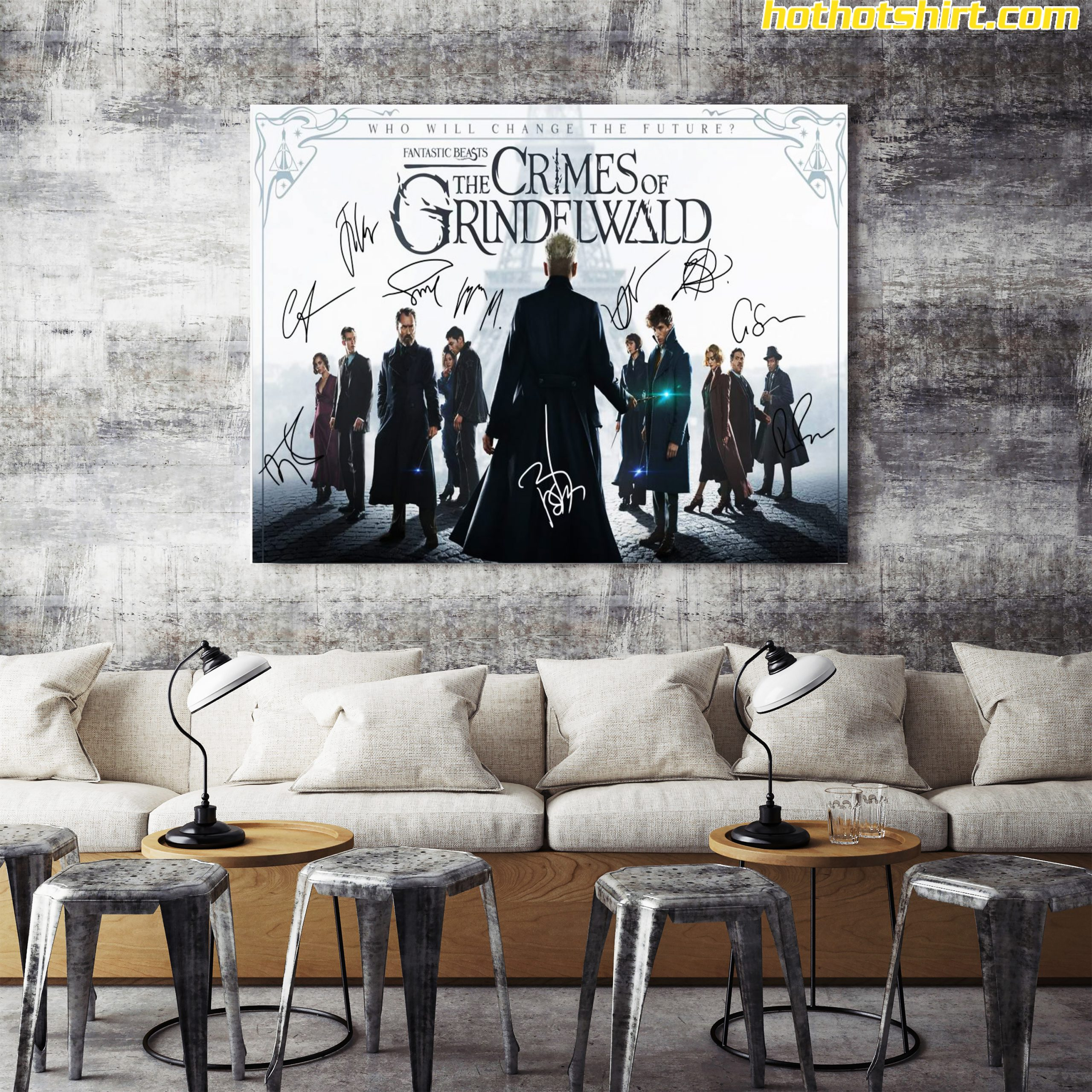 Fantastic beasts the crimes of grindelwald signature poster 3