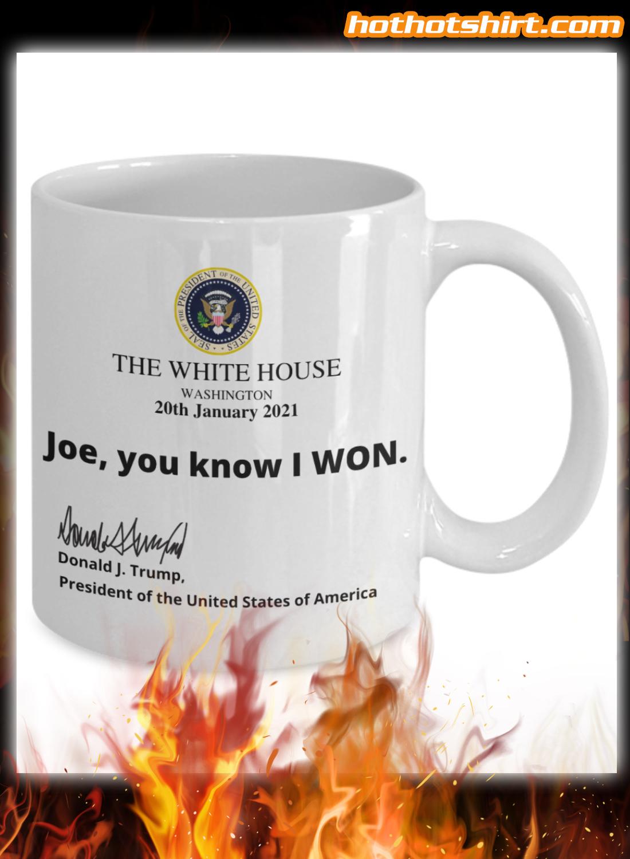 Funny Trump White House Note Mug 1