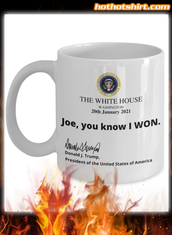 Funny Trump White House Note Mug 2