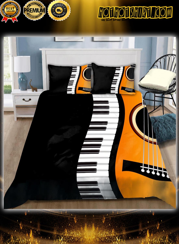 Guitar and piano bedding set 1