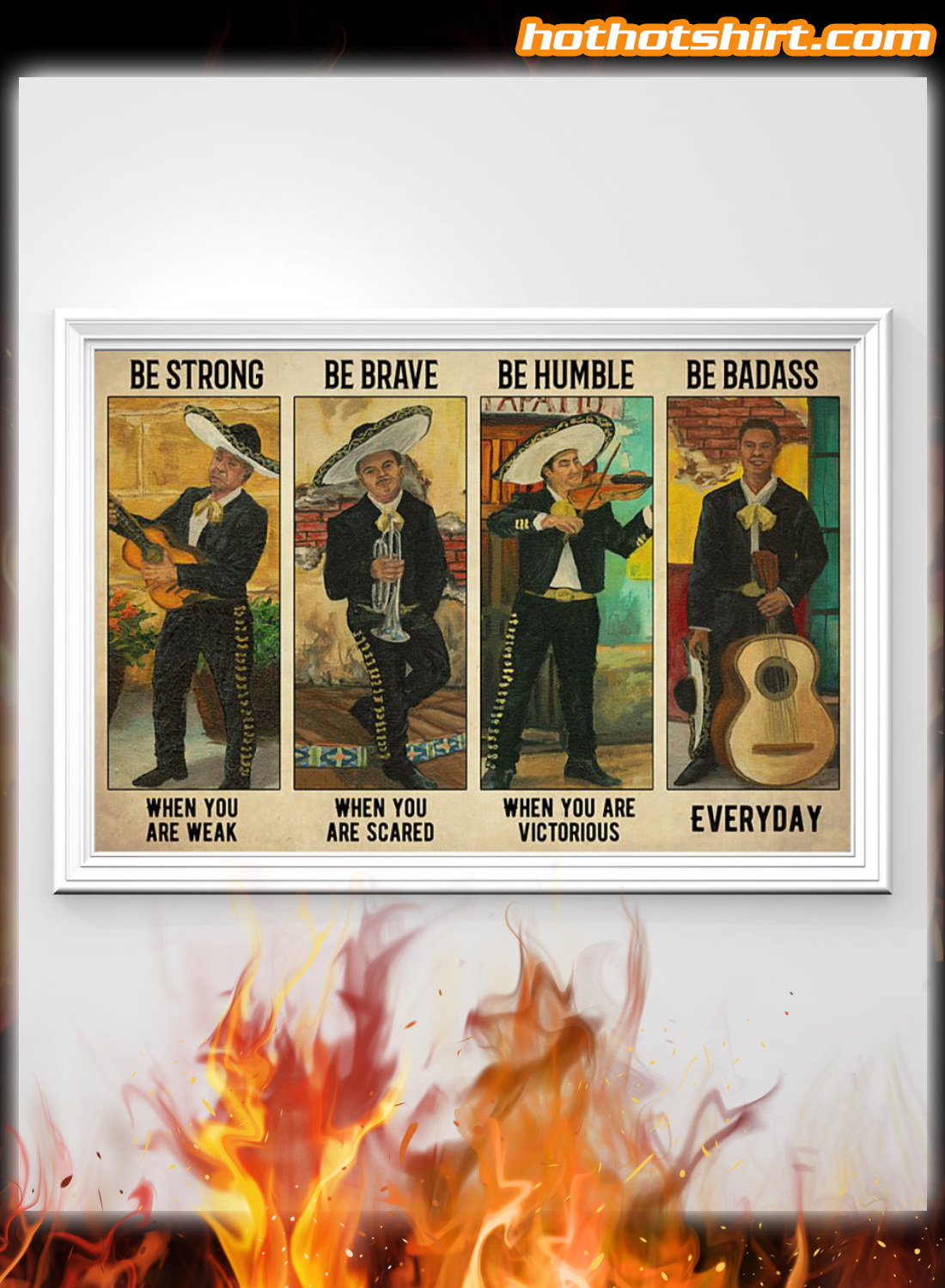 Mariachi Be Strong When You Are Weak Poster
