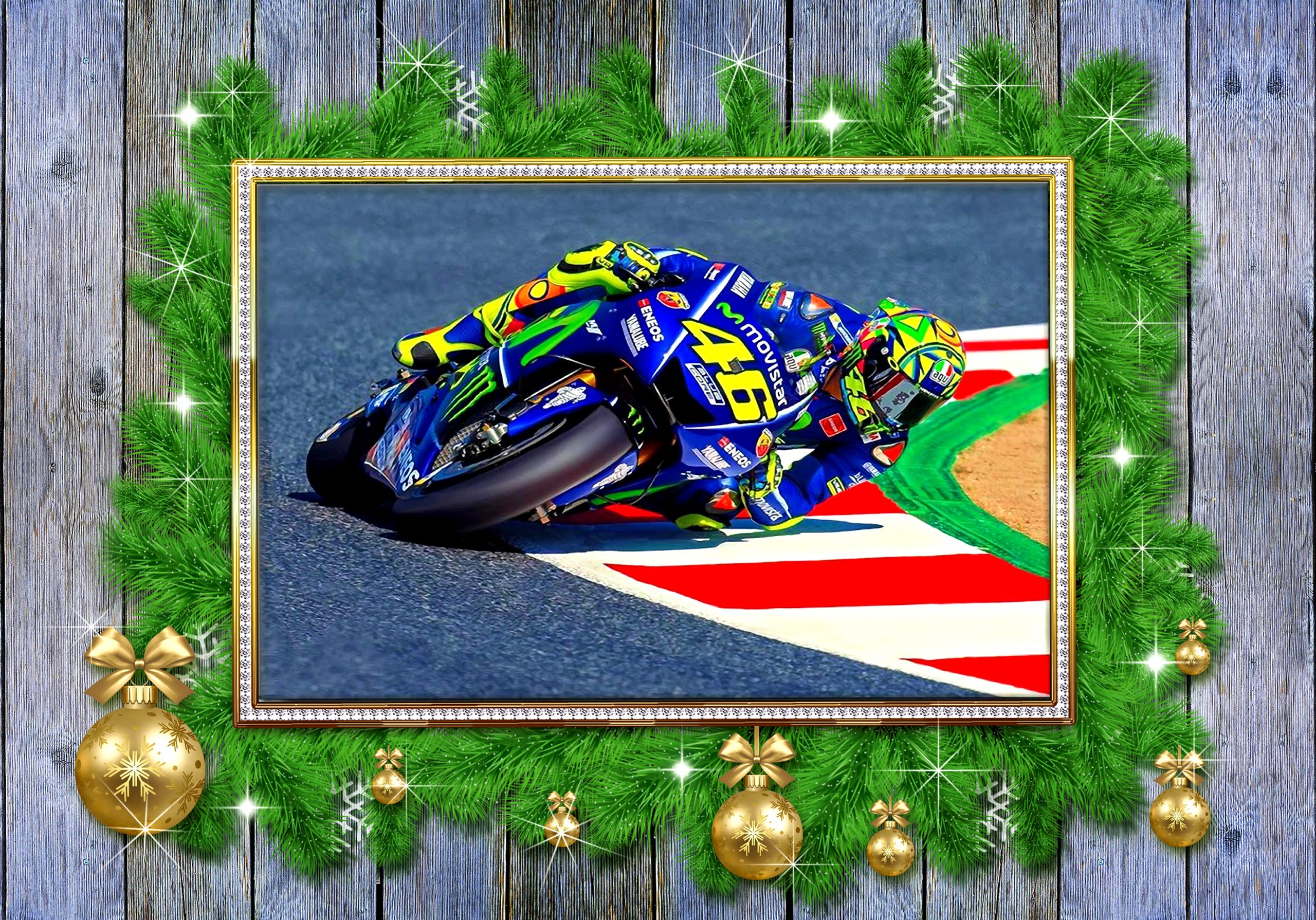 Motorbike Valentino Rossi Motor GP Canvas Prints
