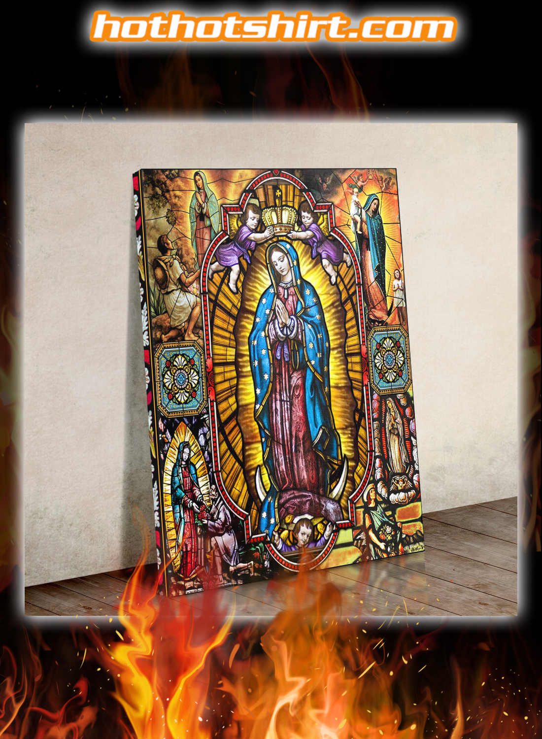 Our Lady of Guadalupe Blessed Virgin Mary Canvas