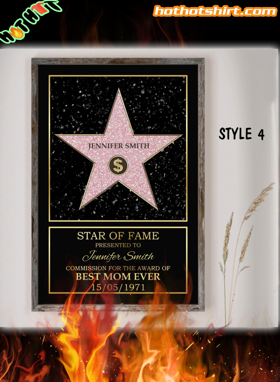VARIETY – Personalized Star Of Fame Award Poster