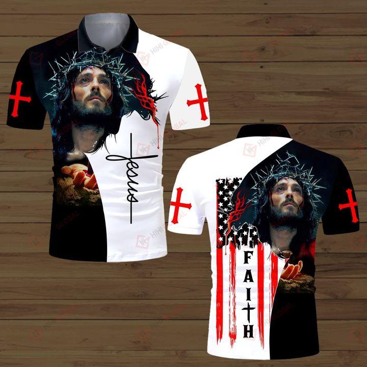 Faith Jesus God All Over Print 3D Shirts, hoodie and hawaiian shirt