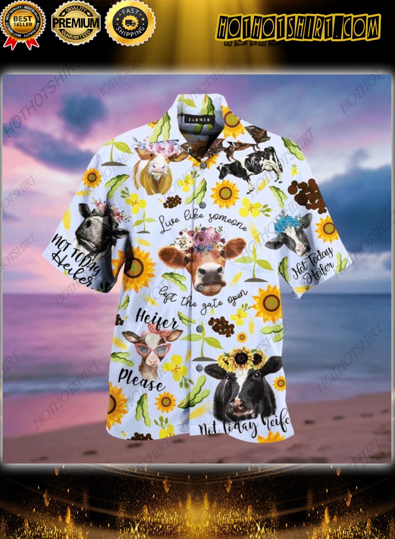 Amazing Farm Heifer Lover Hawaiian Shirt