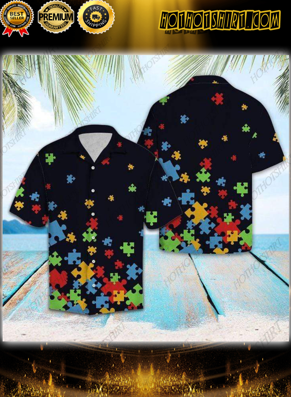 Autism Awareness Hawaiian Unisex Shirt