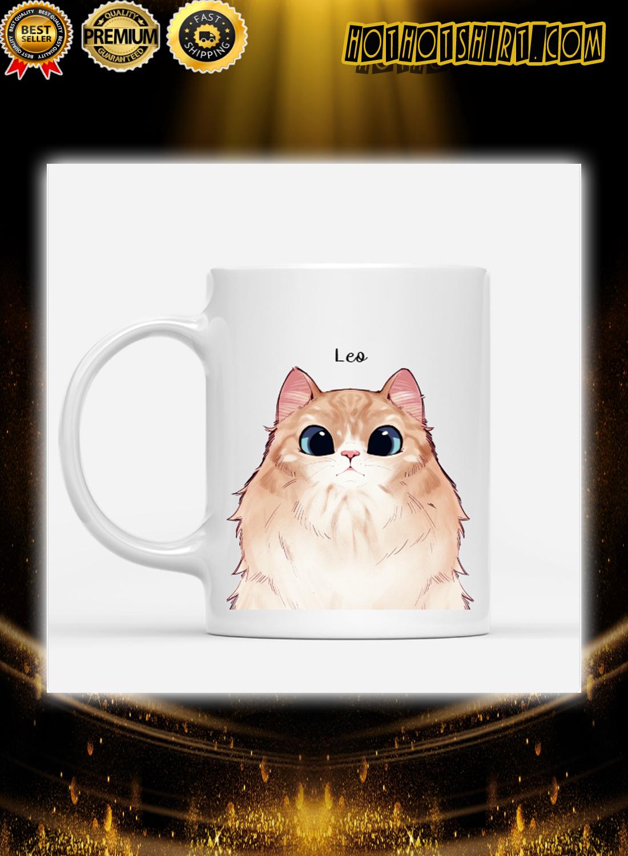 Cats are my favorite people custom name mug 4