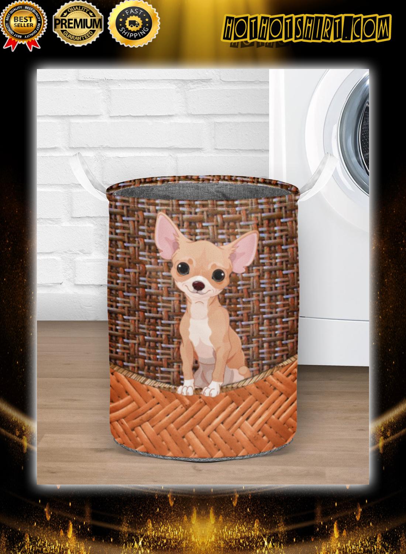 Chihuahua laundry basket 3