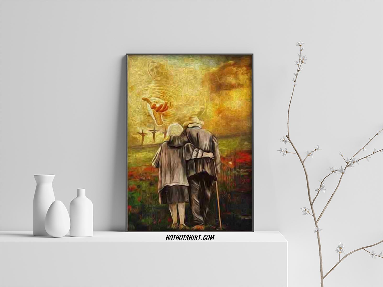 Jesus run to the beautiful world canvas prints 3