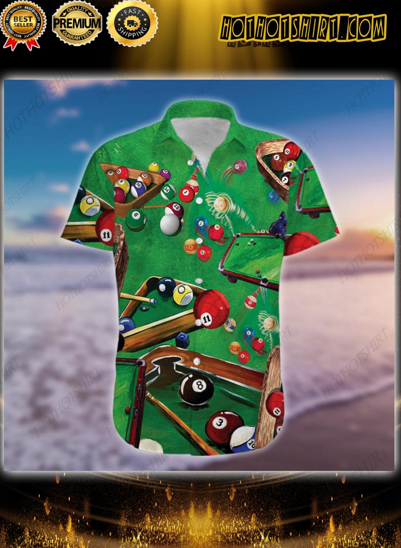 Pool Billiard Lover Hawaiian Shirt