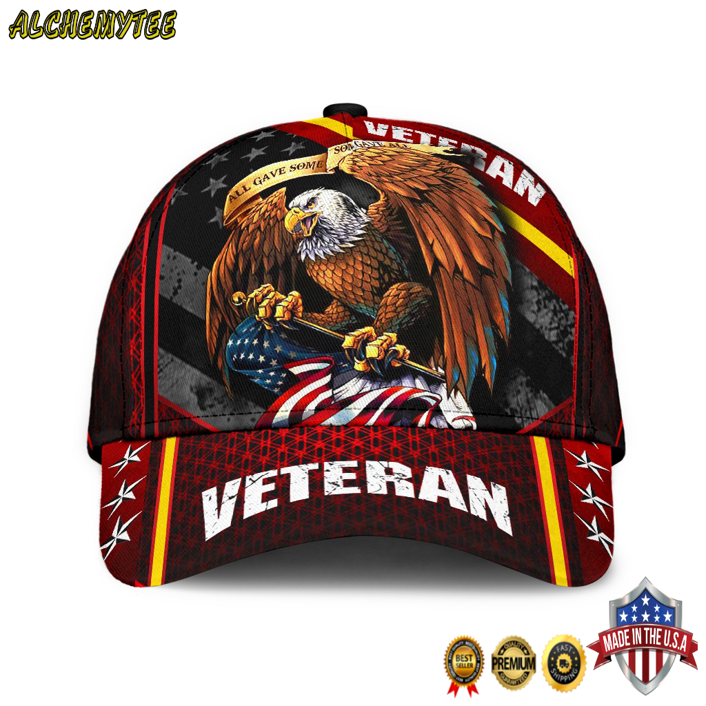 Veteran eagle classic cap