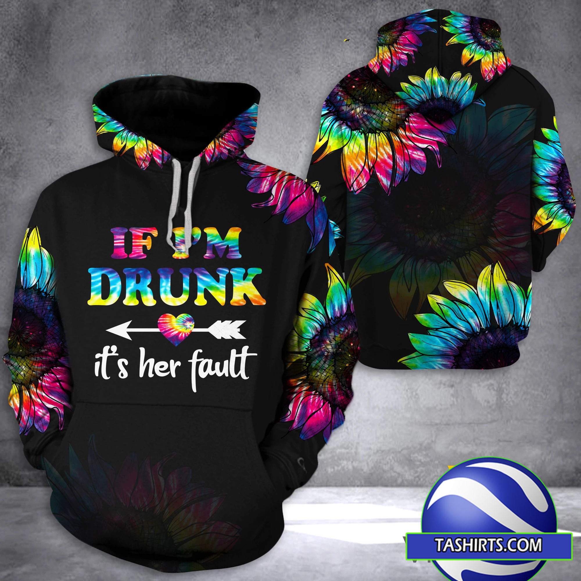 If I'm drunk it's her fault criss-cross open back camisole tank top
