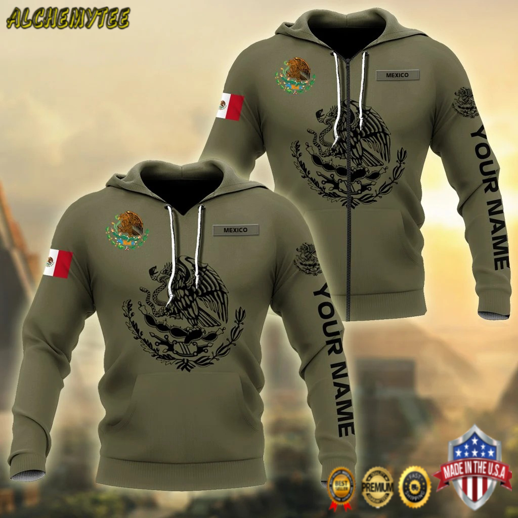 Mexican Customize 3D All Over Printed Shirts