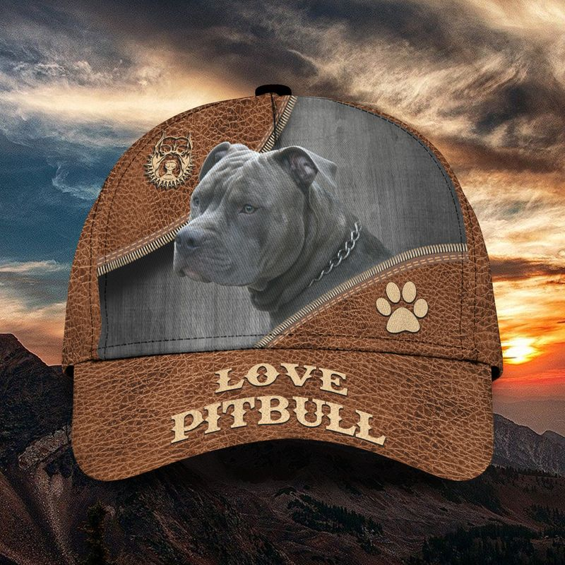 Love pitbull classic cap
