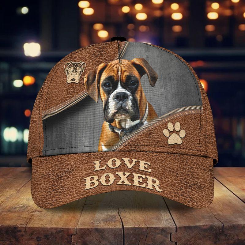 Love boxer classic cap