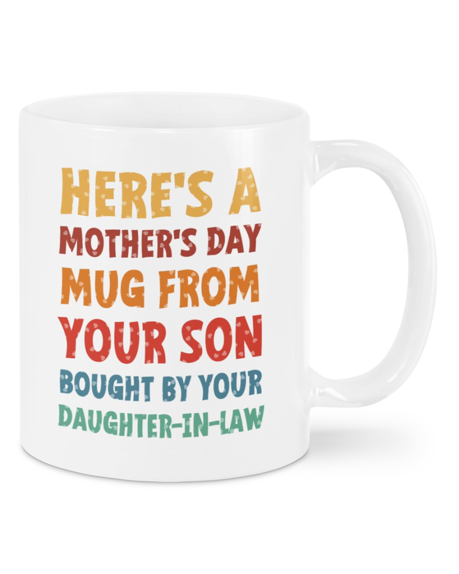 Mothers Day Mug From Son Bought By Daughter In Law Mug