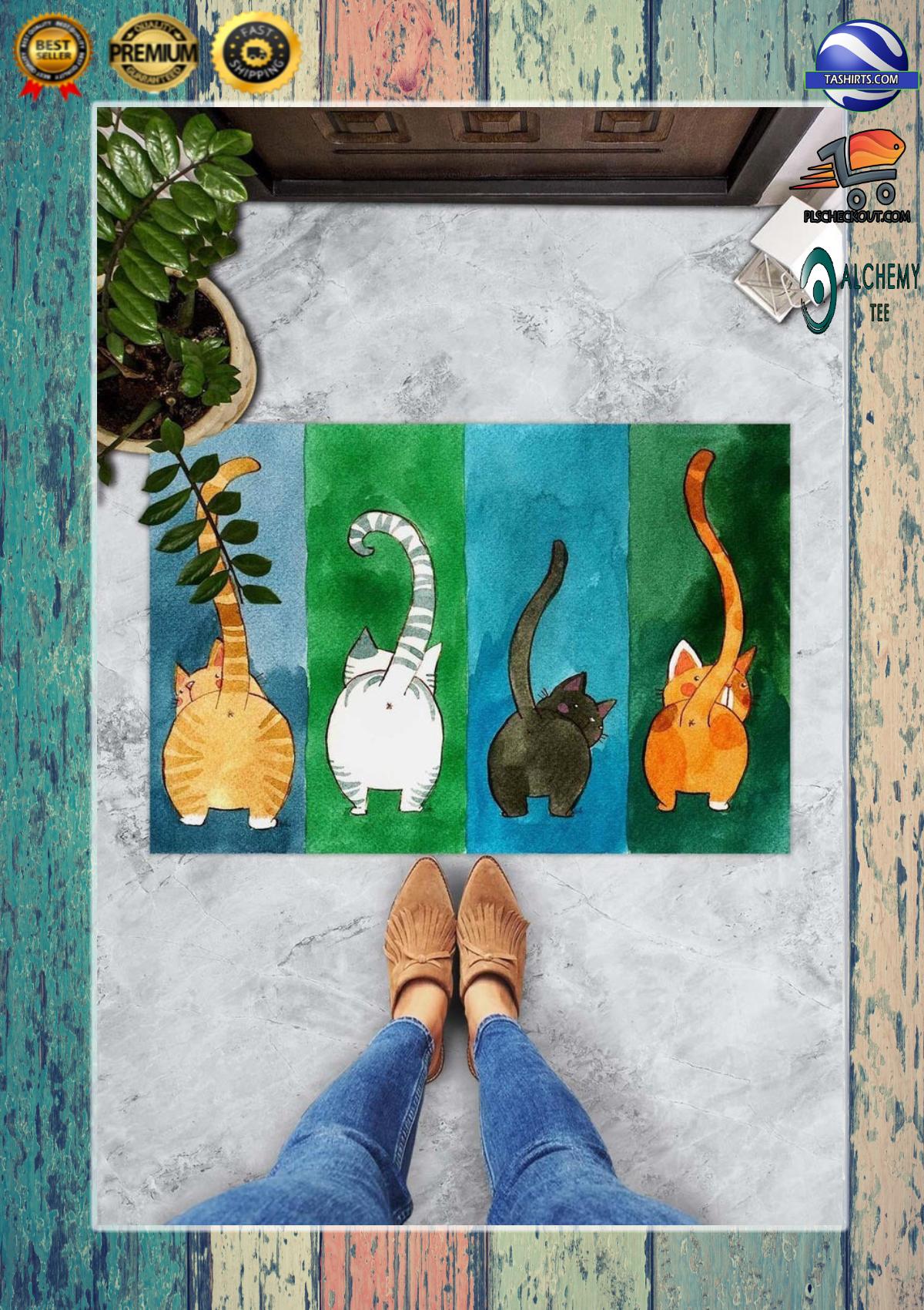 Big Ass Cats Welcome Doormat