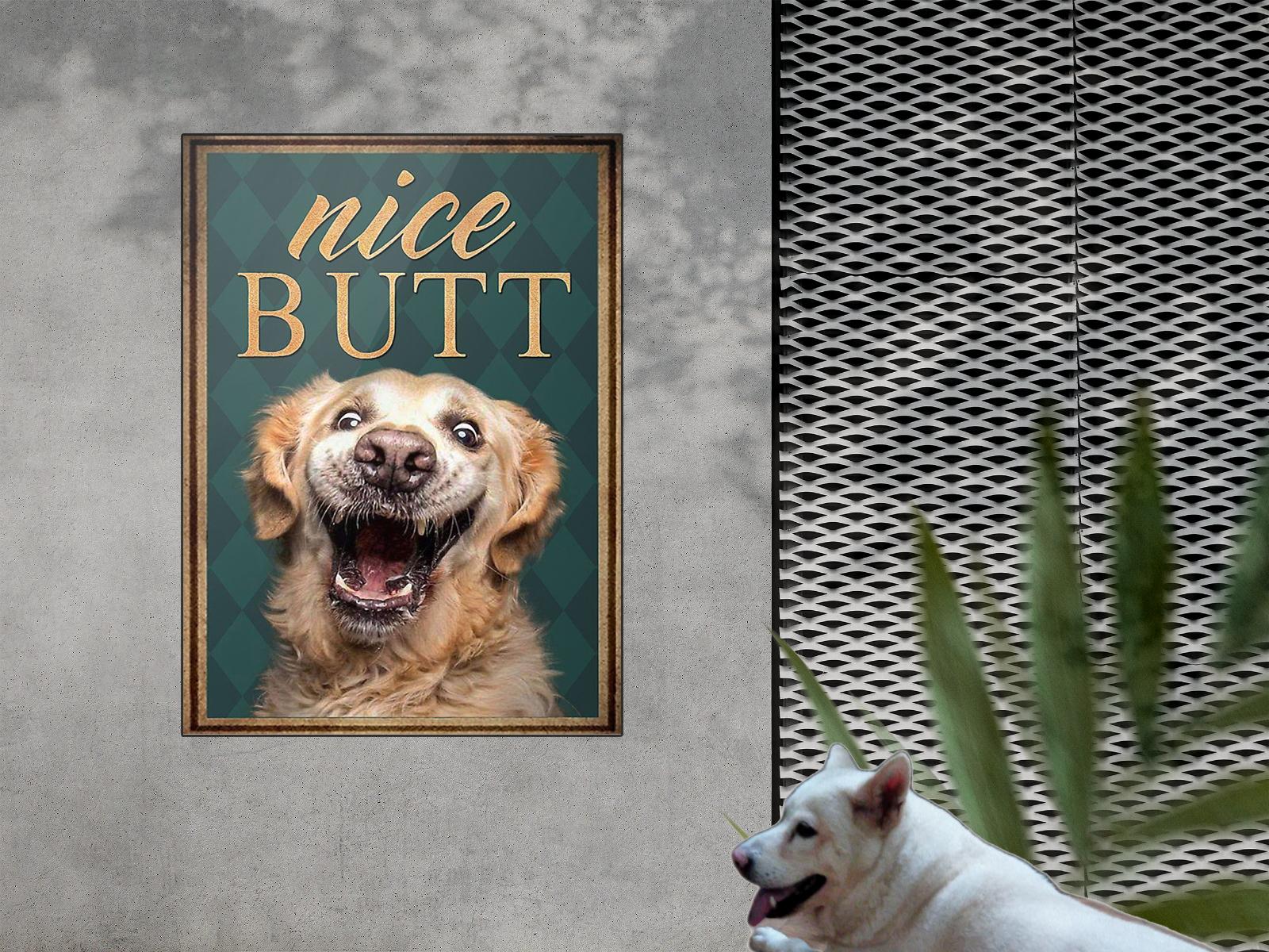 Golden Retriever Nice Butt Poster