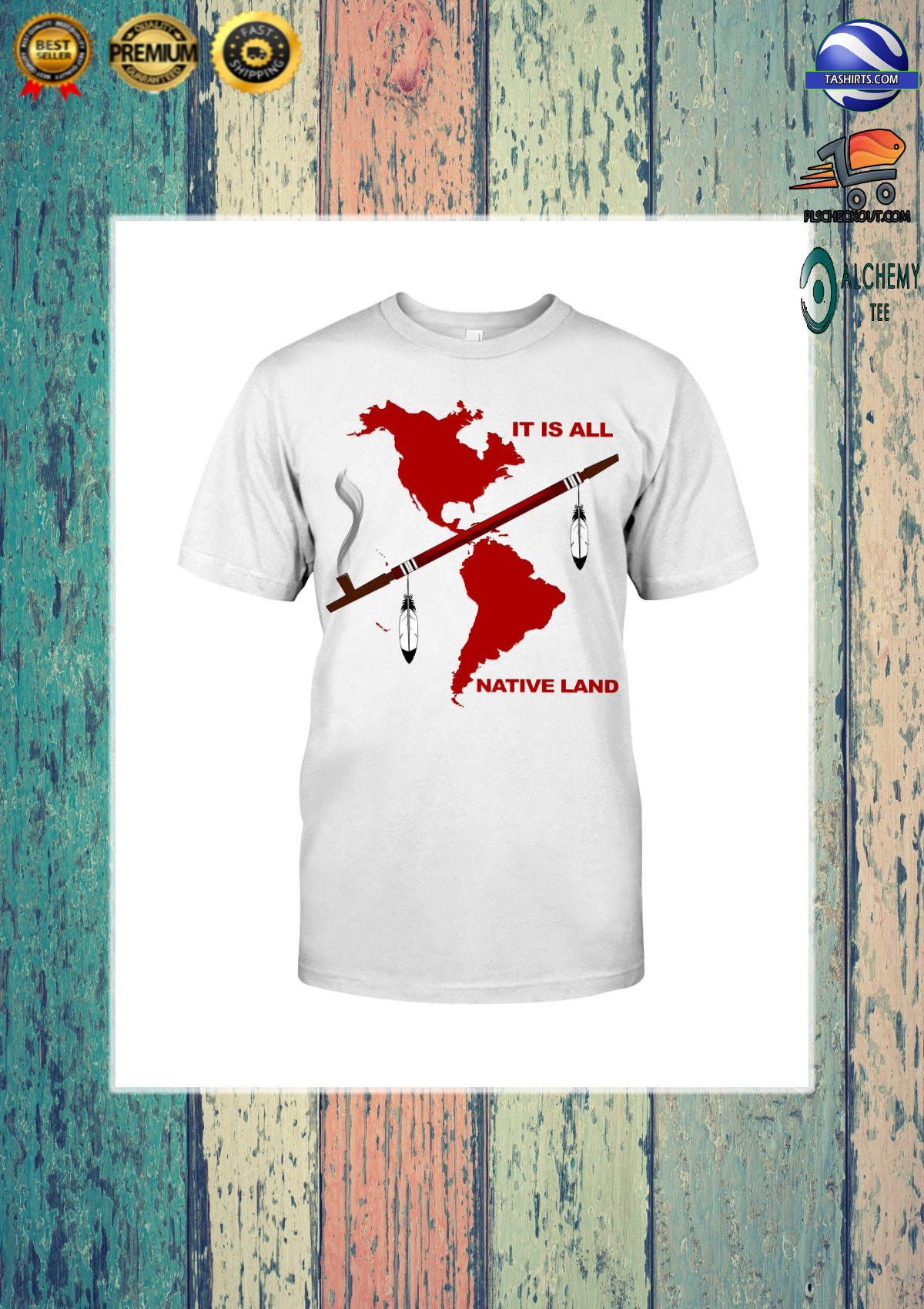 It is all native land shirt and hoodie