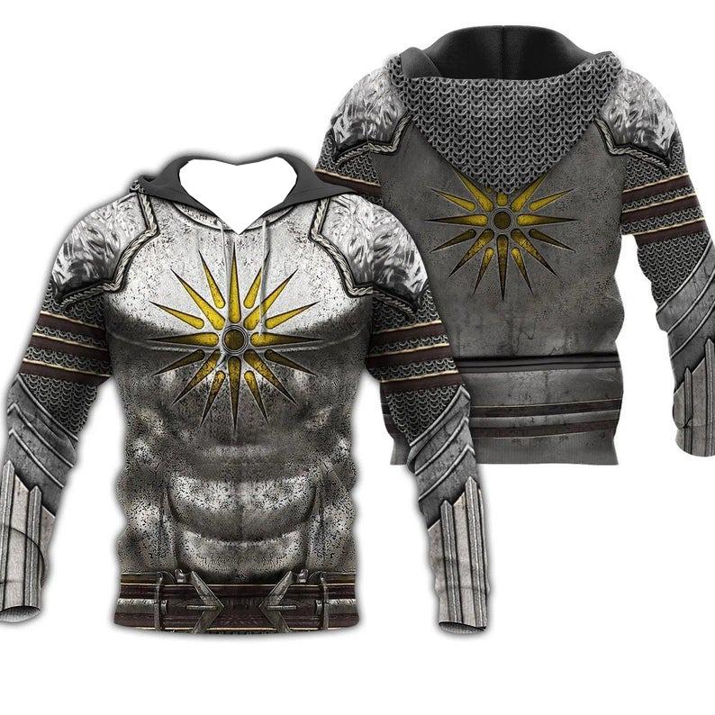 Macedonia Armor 3D Hoodie