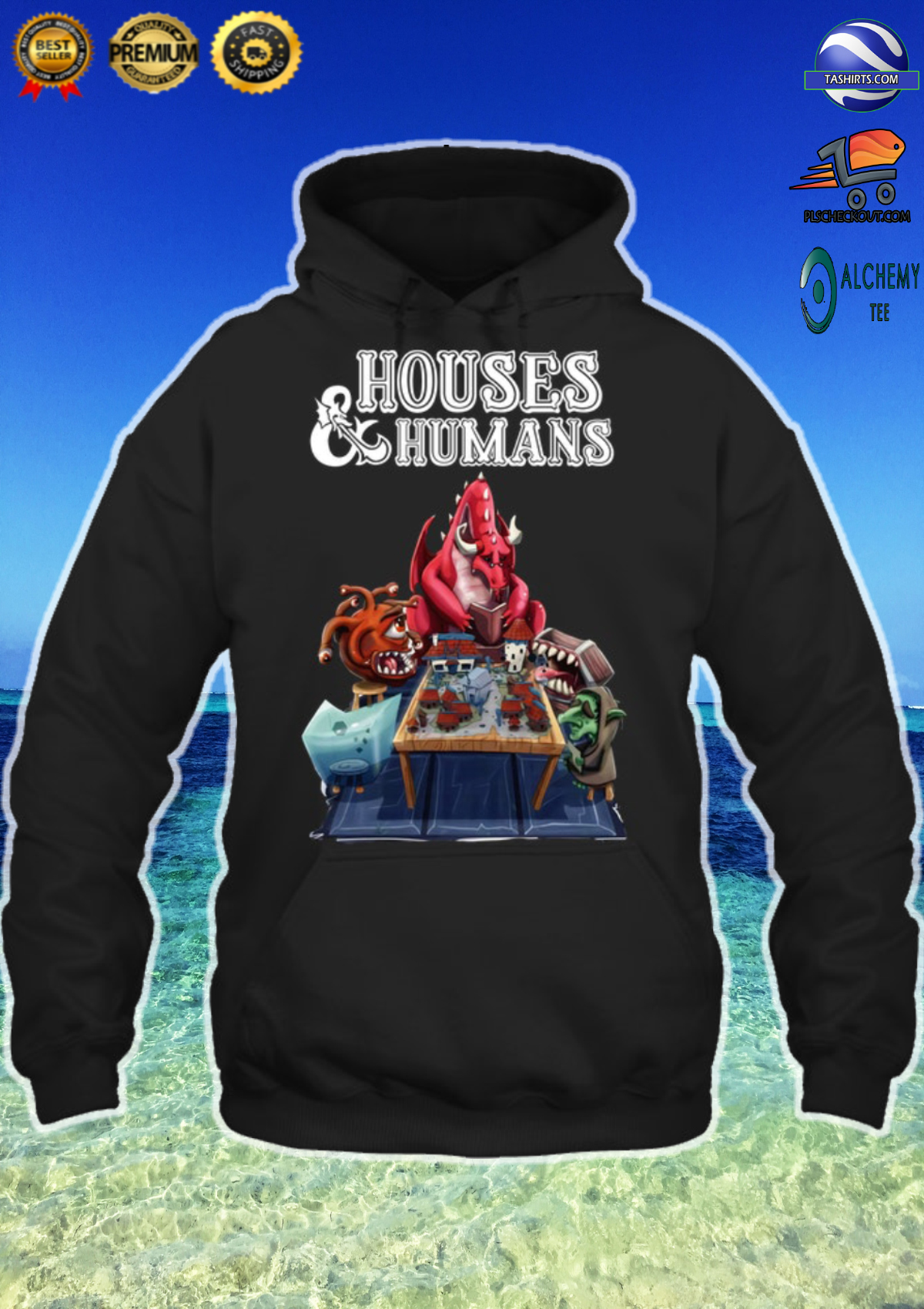 Houses and humans shirt, hoodie and tank top