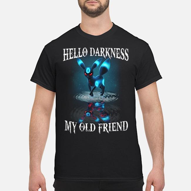 Pokemon Umbreon hello darkness my old friend shirt