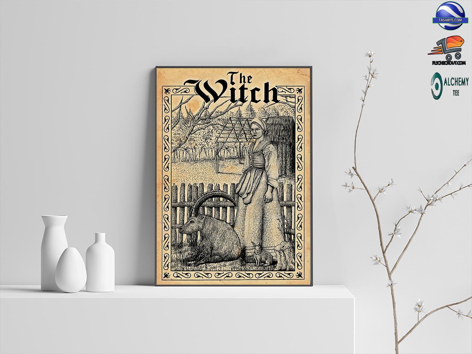 Witchcraft salem witch poster