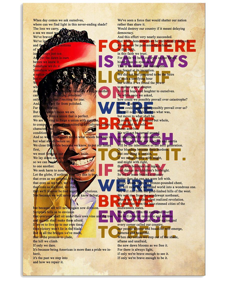 Amanda Gorman - There is Always Light Poster