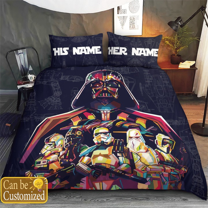Star Wars Soldiers 3D Personalized Custom Name Bedding Set