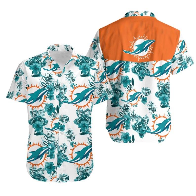 Miami Dolphins NFL Hawaiian Shirt