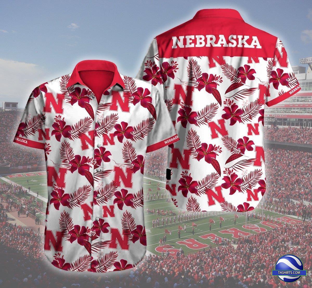 Nebraska Cornhuskers NCAA Hawaiian Shirt