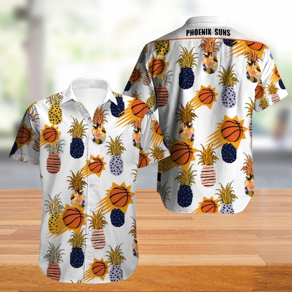 Phoenix Suns Warriors NBA Hawaiian Shirt