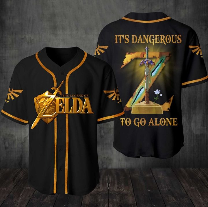 The Legend Of Zelda It's Dangerous to go alone 3D All Over Print Shirt