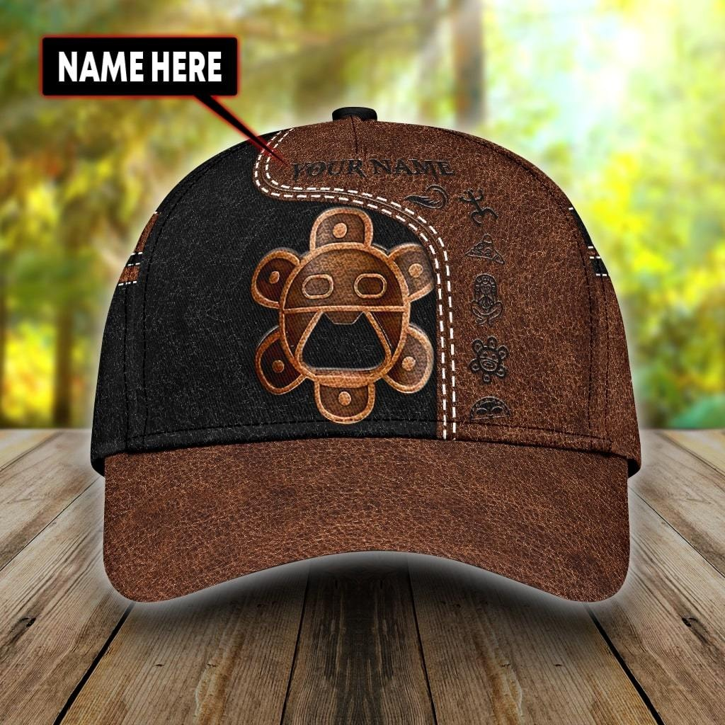 Sol Taino Puerto Rico Custom Name Classic Cap
