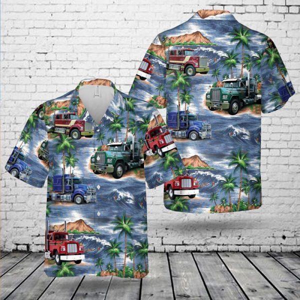 Truck Lover Mack R Model Hawaiian Shirt