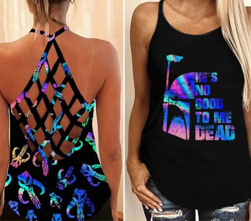 Star wars he's no good to me dead camisole tank top
