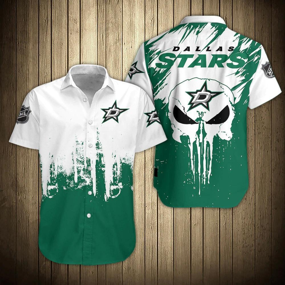 NFL Dallas Stars Shirts Hawaiian Short Sleeve