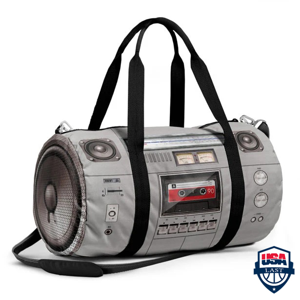 Boombox Duffle Bag For Music Lover
