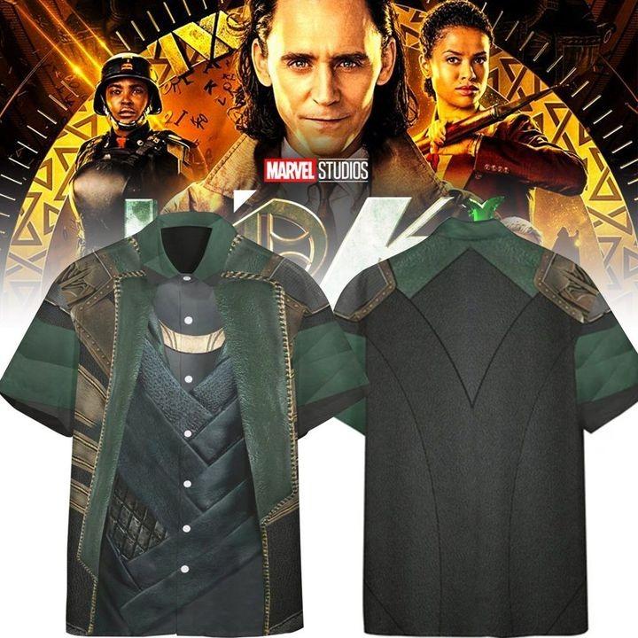 Loki Laufeyson Costume Custom Short Sleeve Shirt