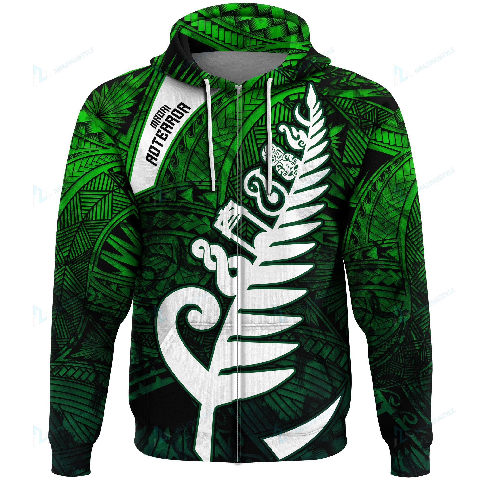 New Zealand Hot Maori Symbols Shirts