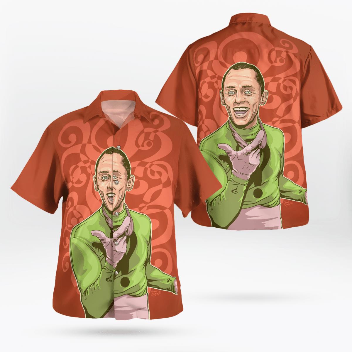 The Riddler and Batman Hawaiian Shirt