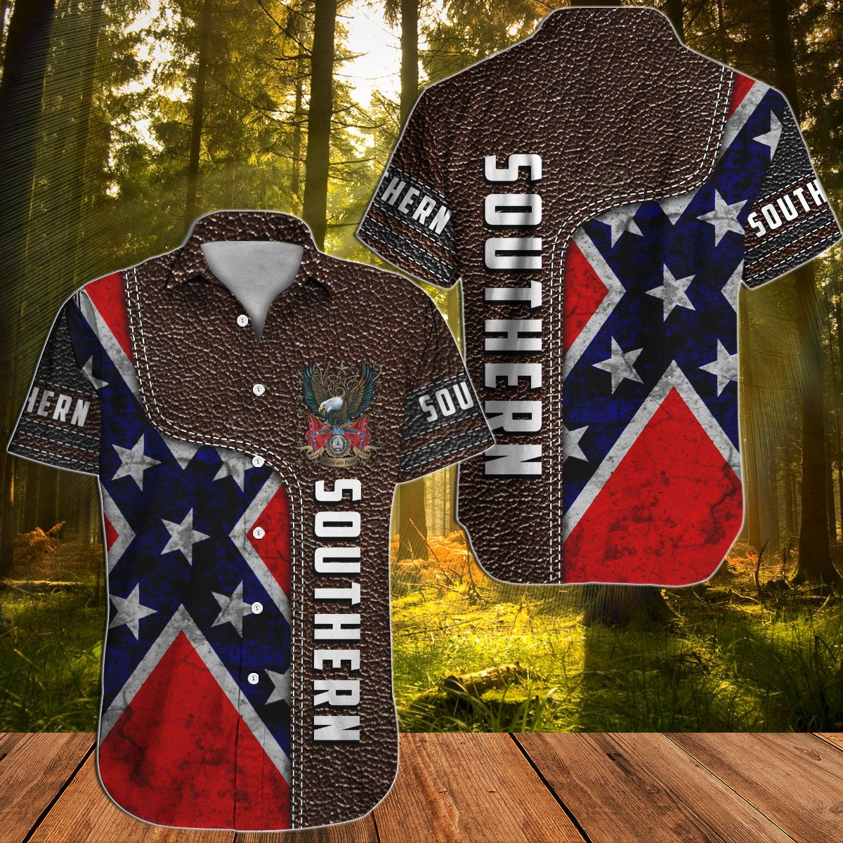 Southern Rebel Confederate 2 Hawaiian shirt