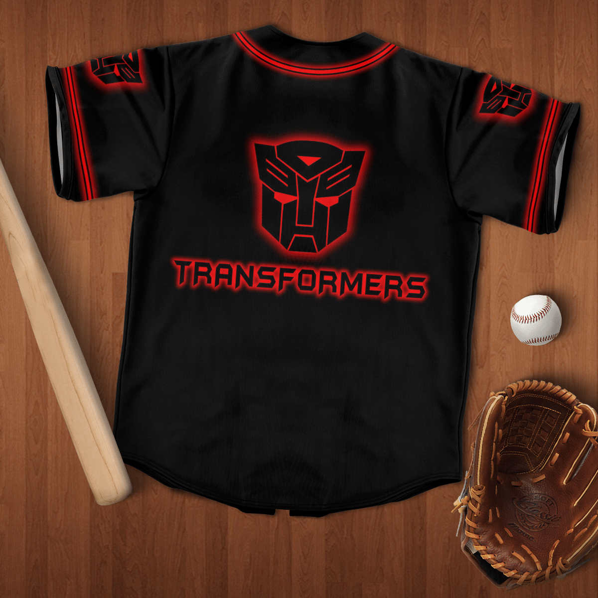 Optimus Prime Autobot Transformer baseball Jersey shirt