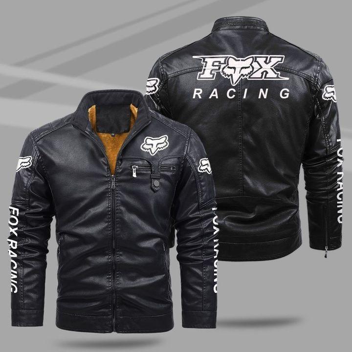 Fox Racing Fleece Leather Jacket