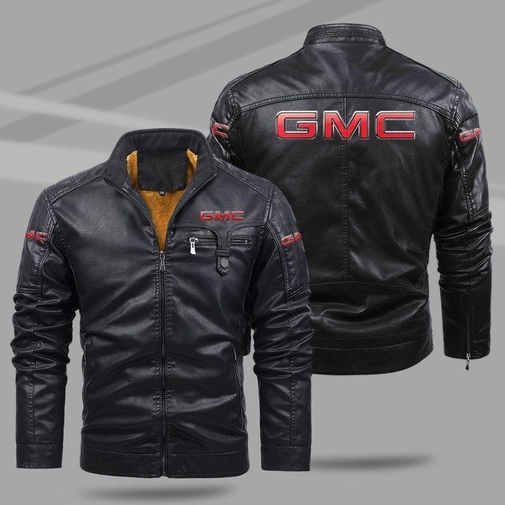 GMC Fleece Leather Jacket