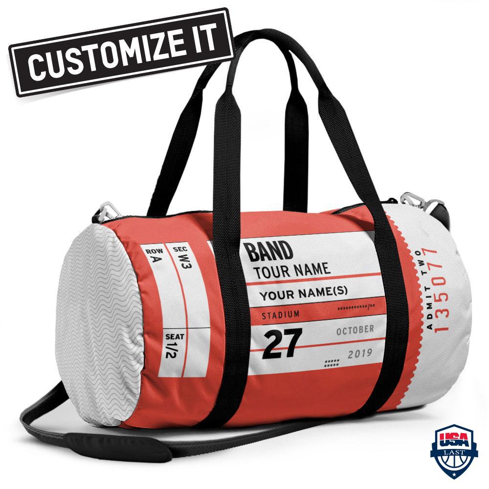 Concert Stup Customize Duffle Bag