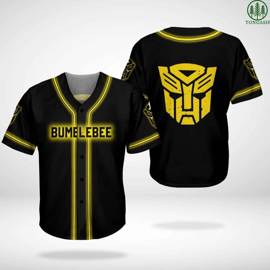 Trasformers Bumblebee Autobot baseball jersey