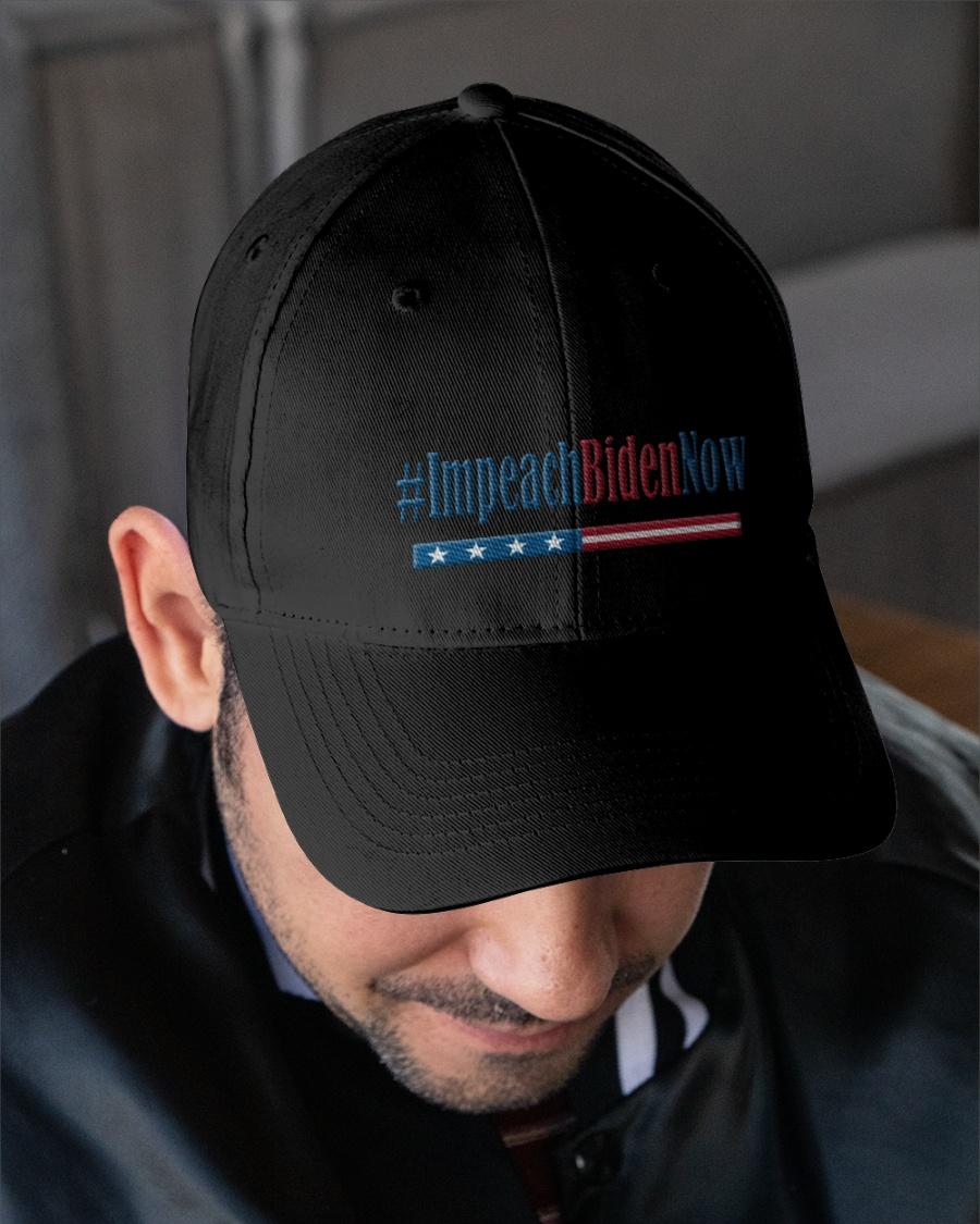 Impeach Biden Now Embroidered Hat